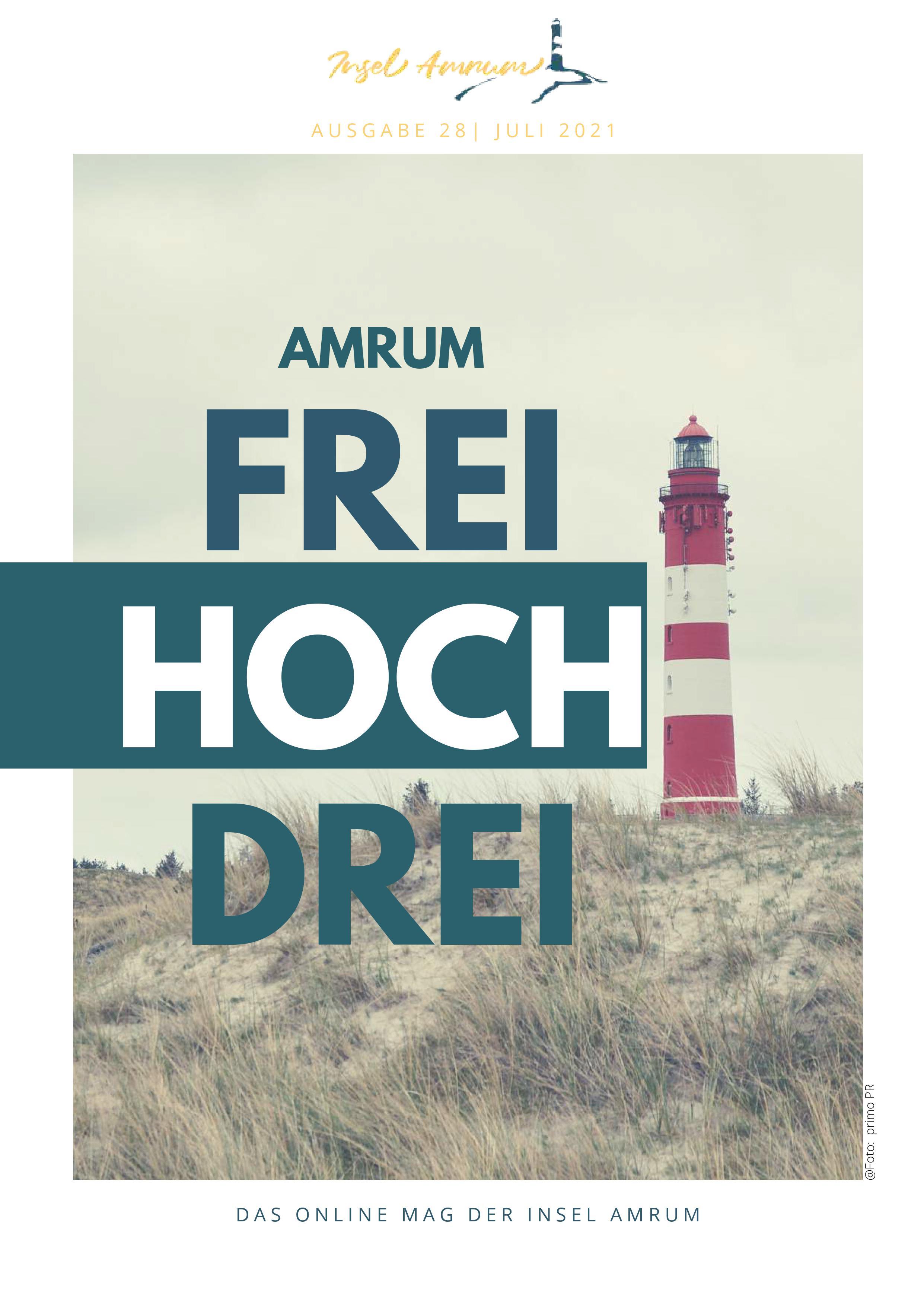Cover Amrum FreiHochDrei No 28