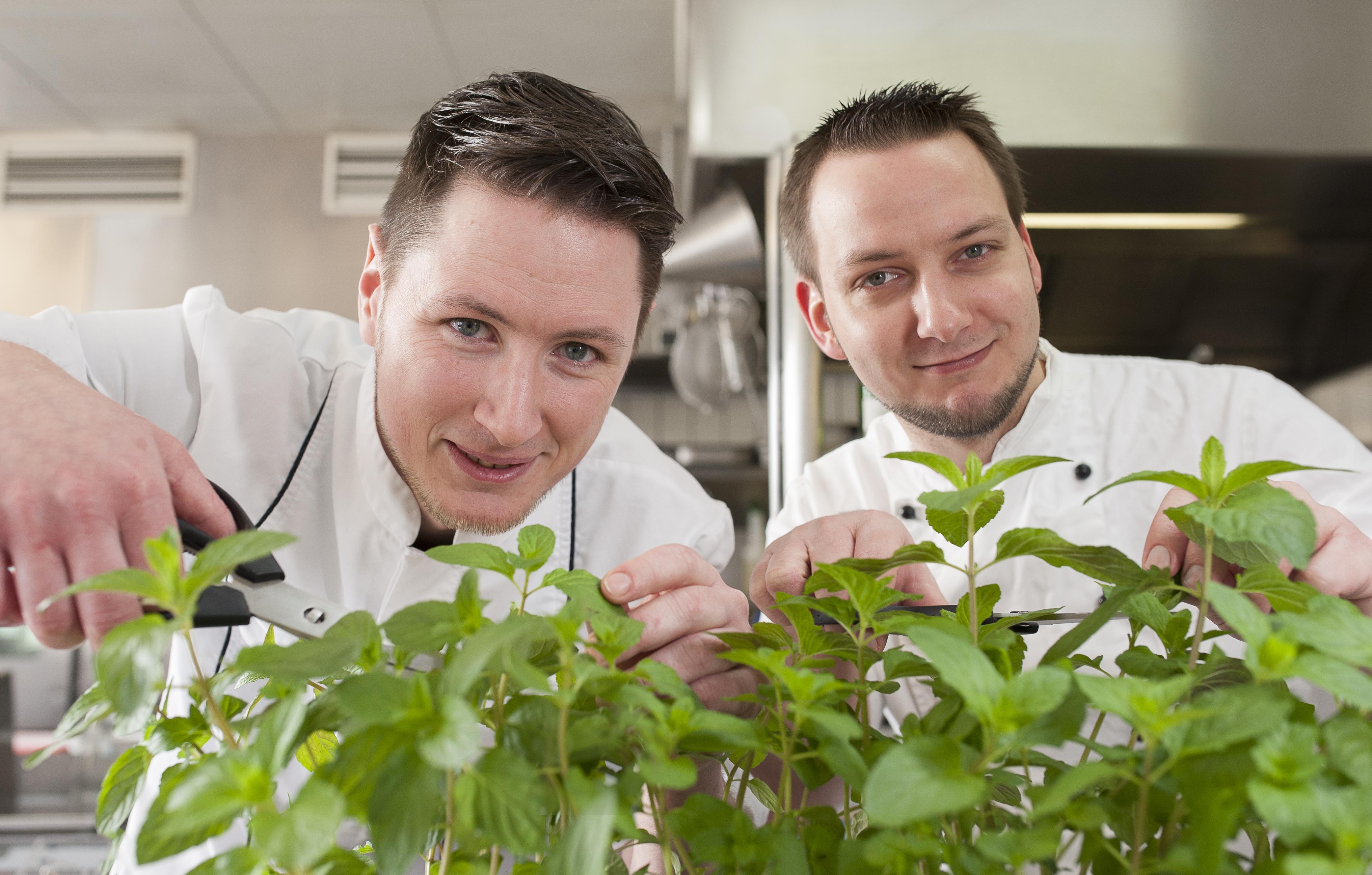 BE BIO - Andy Greifert und Enrico Köpp im BioRestaurant