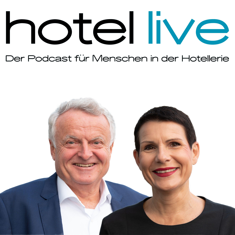 Ute Rieger und Robert Cordes Vodcast Podcast hotel live