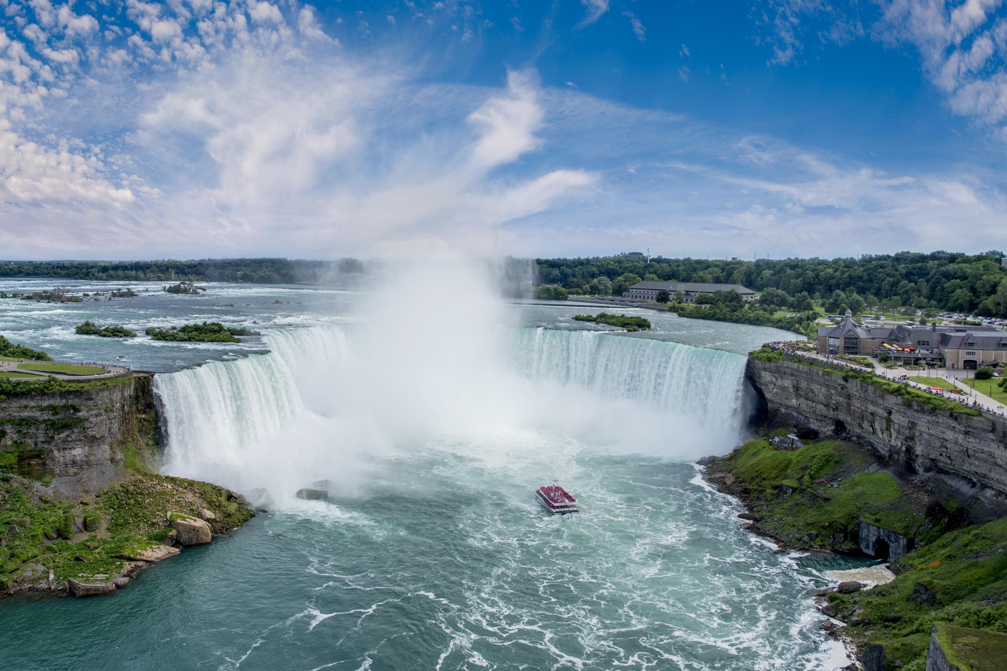 Die Landpartie Radeln und Reisen in Kanada Niagarafälle