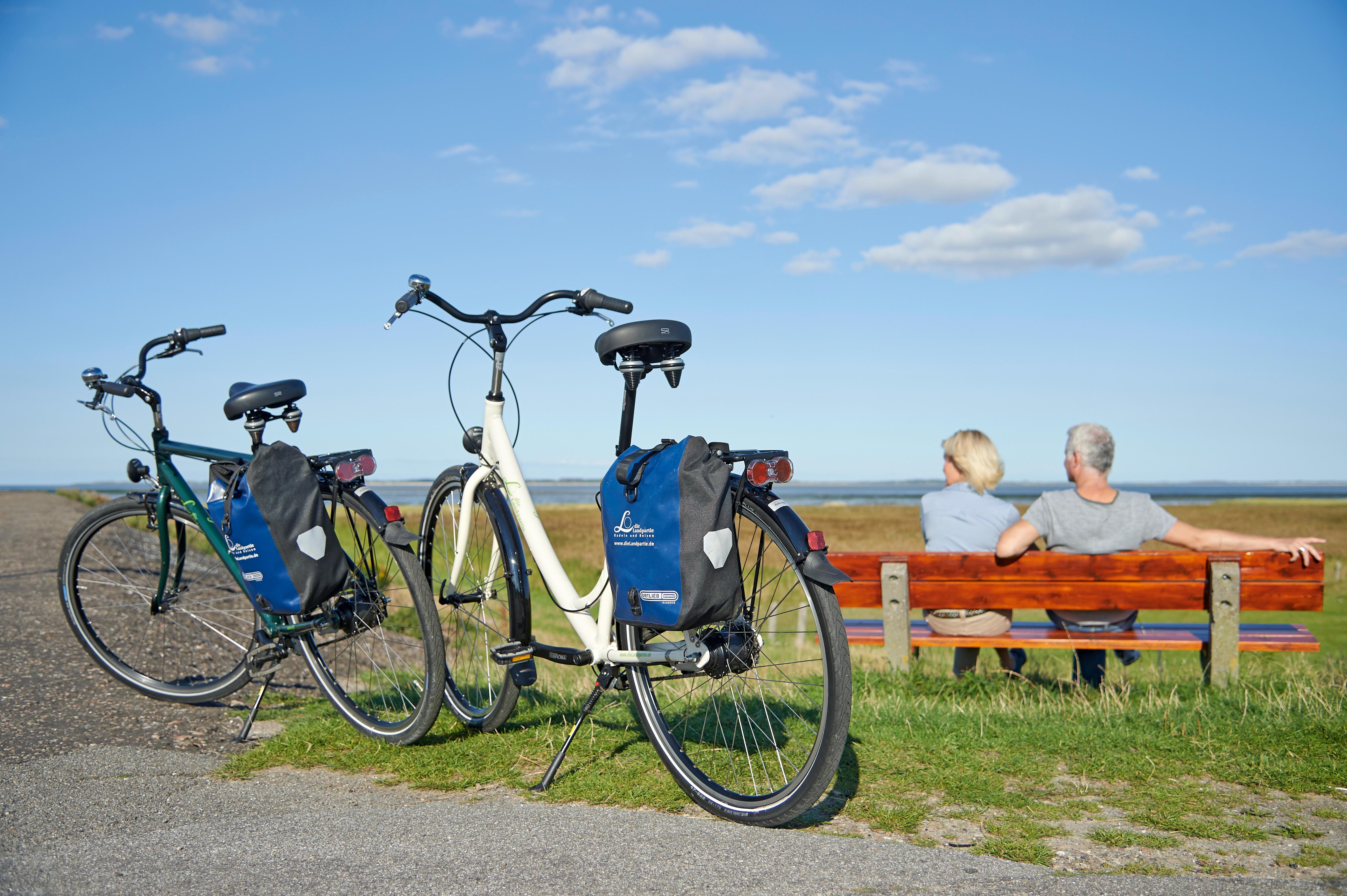 Inselradeln Nordfriesland mit der Landpartie Radeln und Reisen