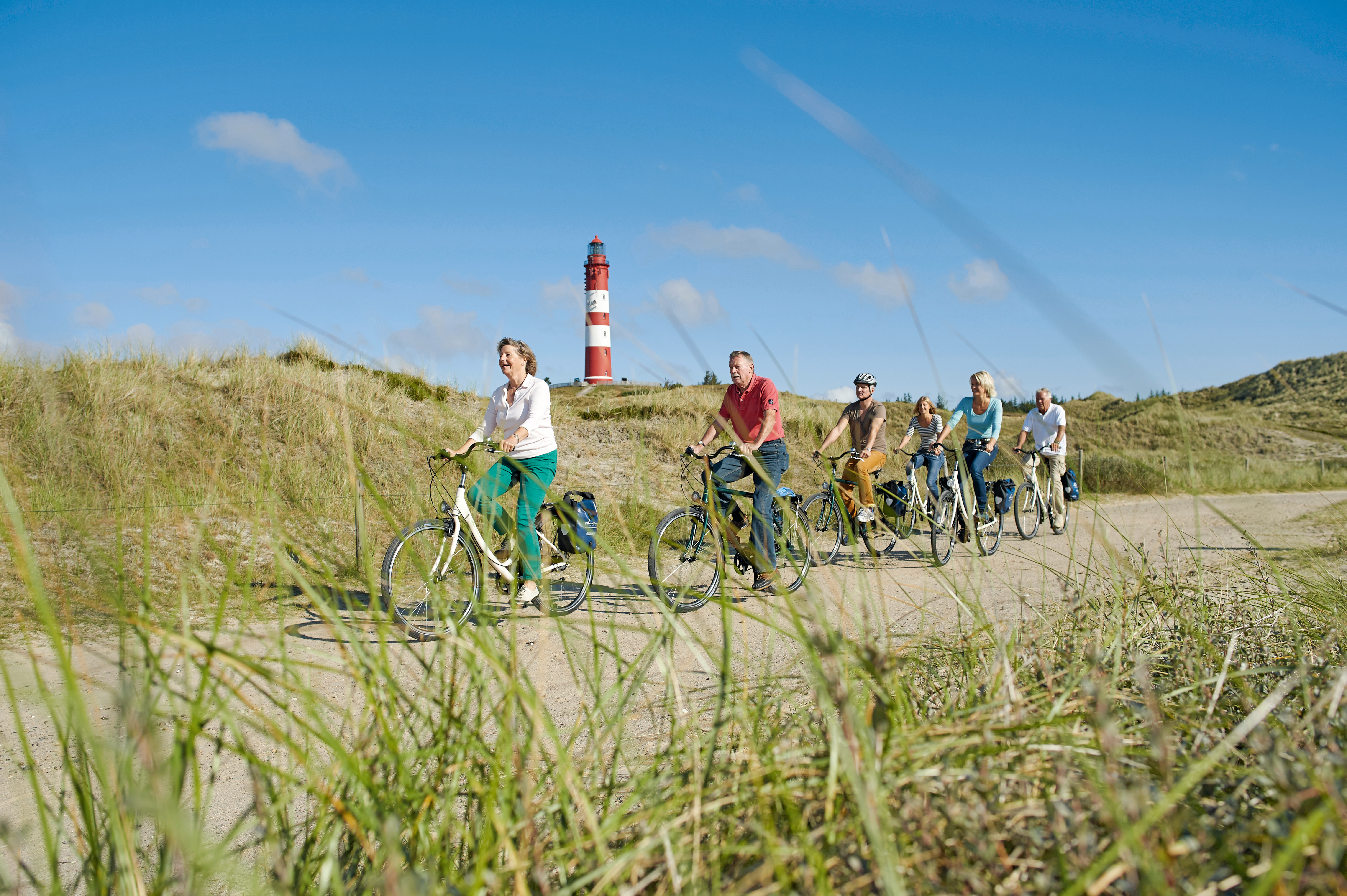 Inselradeln Nordfriesland mit die Landpartie