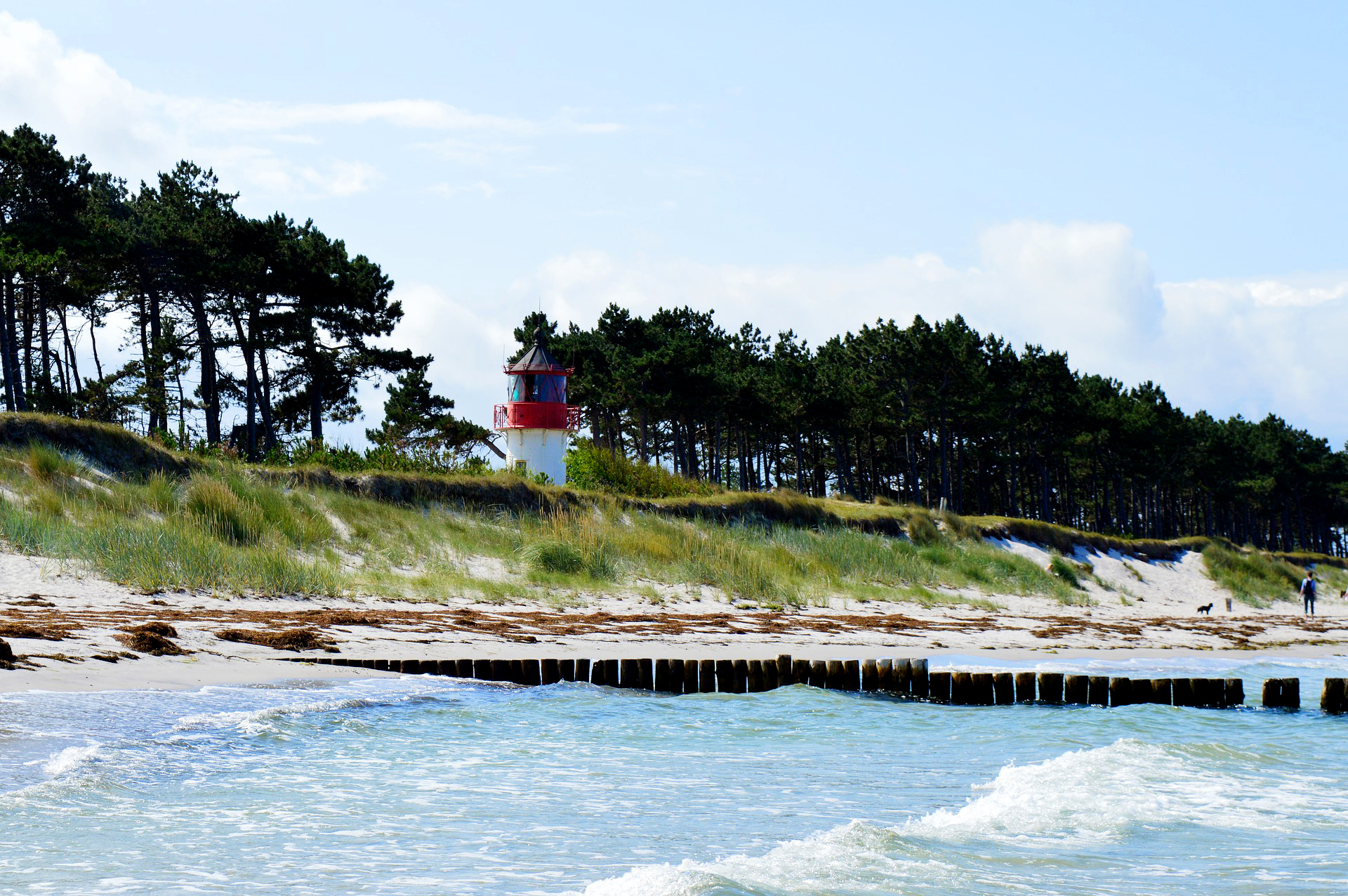 Hiddensee auf der Ostseeinsel-Radreise mit die Landpartie