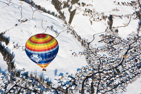 Internationales Ballonfestival im Kanton Waadt