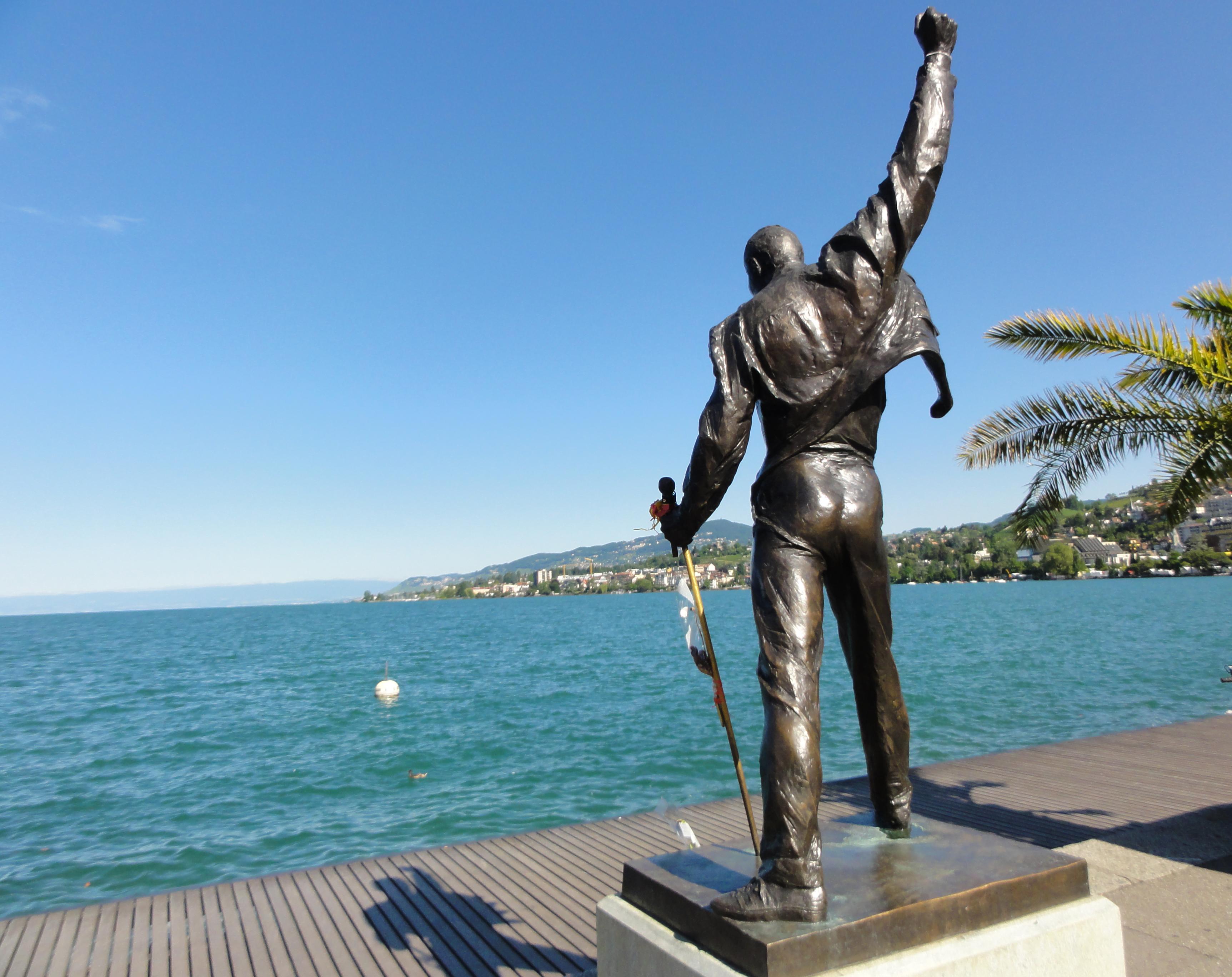 Kanton Waadt - Freddie Mercury Statue