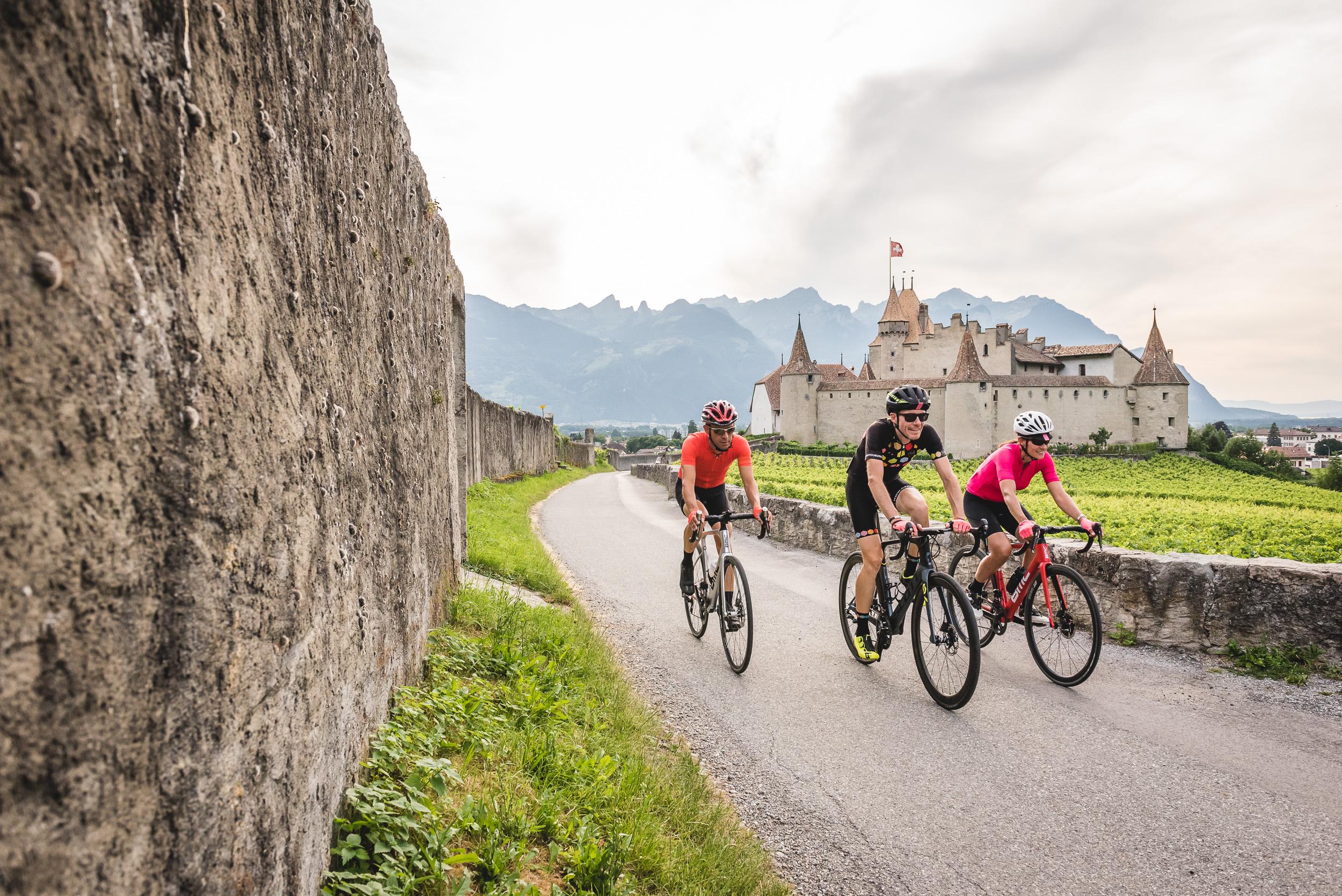 Straßen-Radrennen im Kanton Waadt