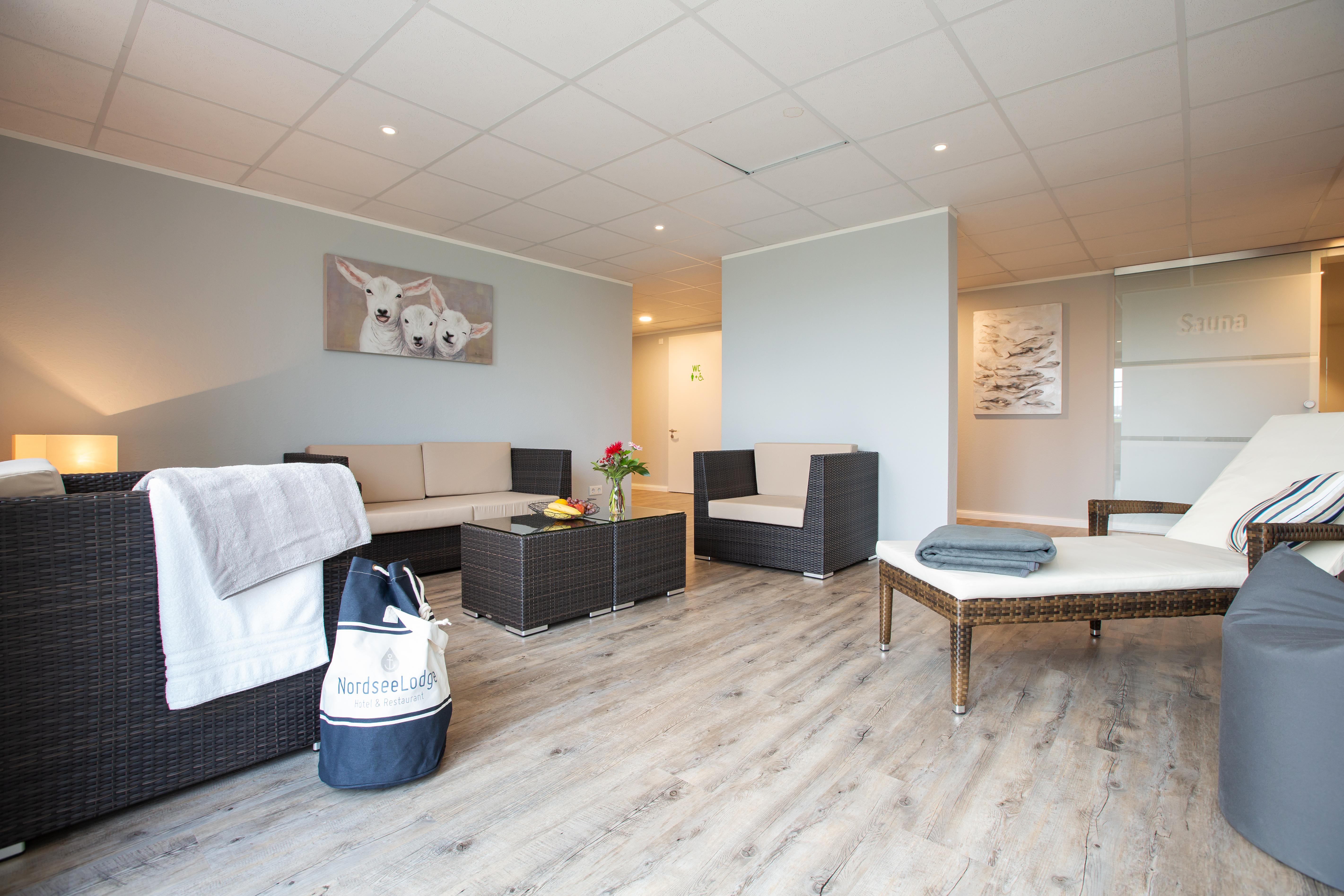 Nordsee Lodge Wellnessbereich Pellworm