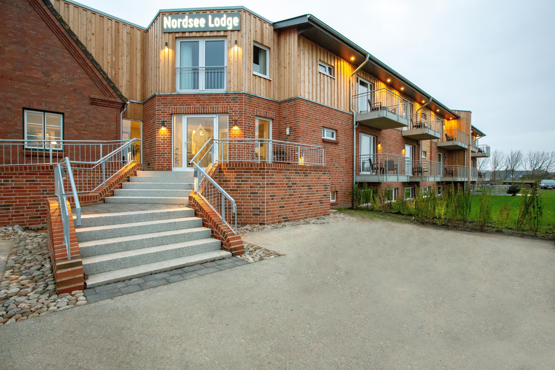 NordseeLodge - Eingang