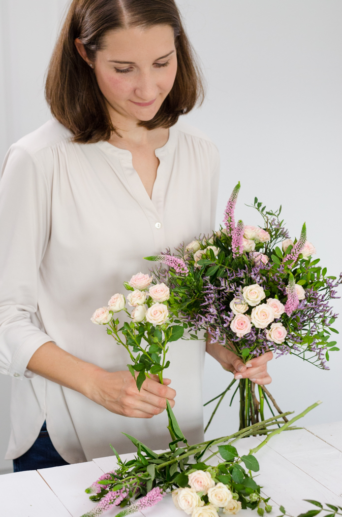 Workshop Sommerliche Blütenträume für die Vase bei Okelmann's