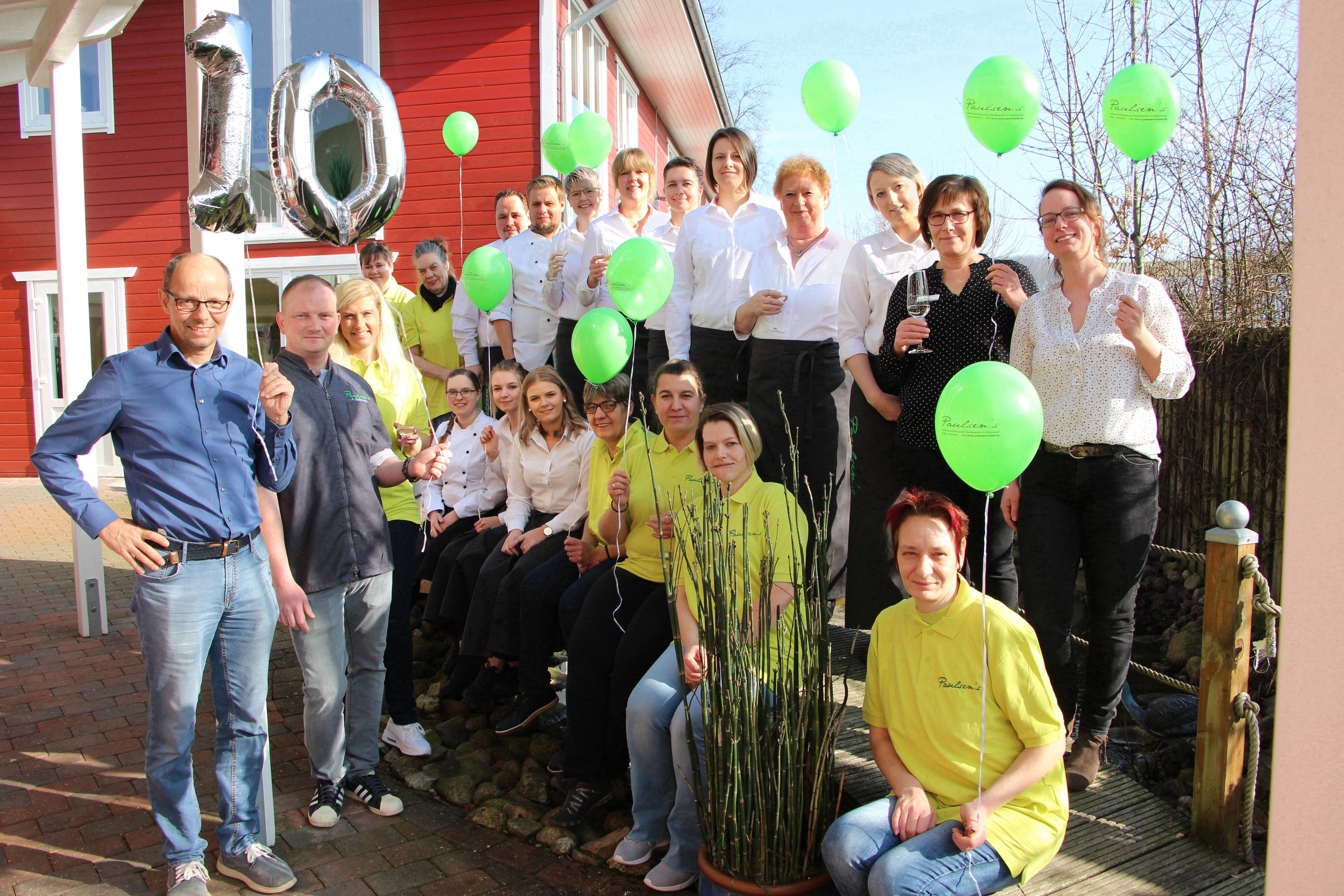 Das Team des Paulsen's Landhotel und Restaurant