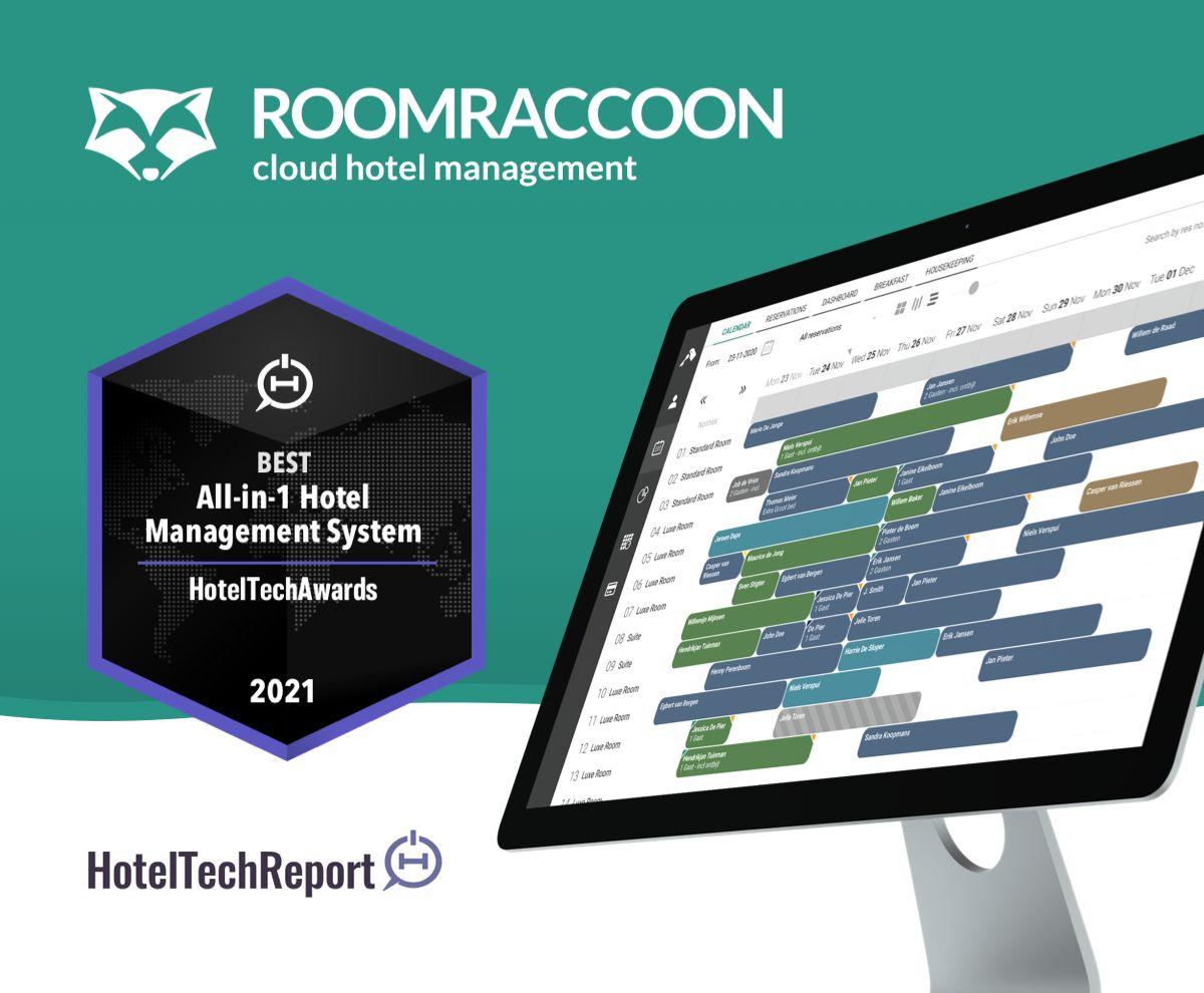 RoomRaccoon - HotelTechAward Gewinner 2021