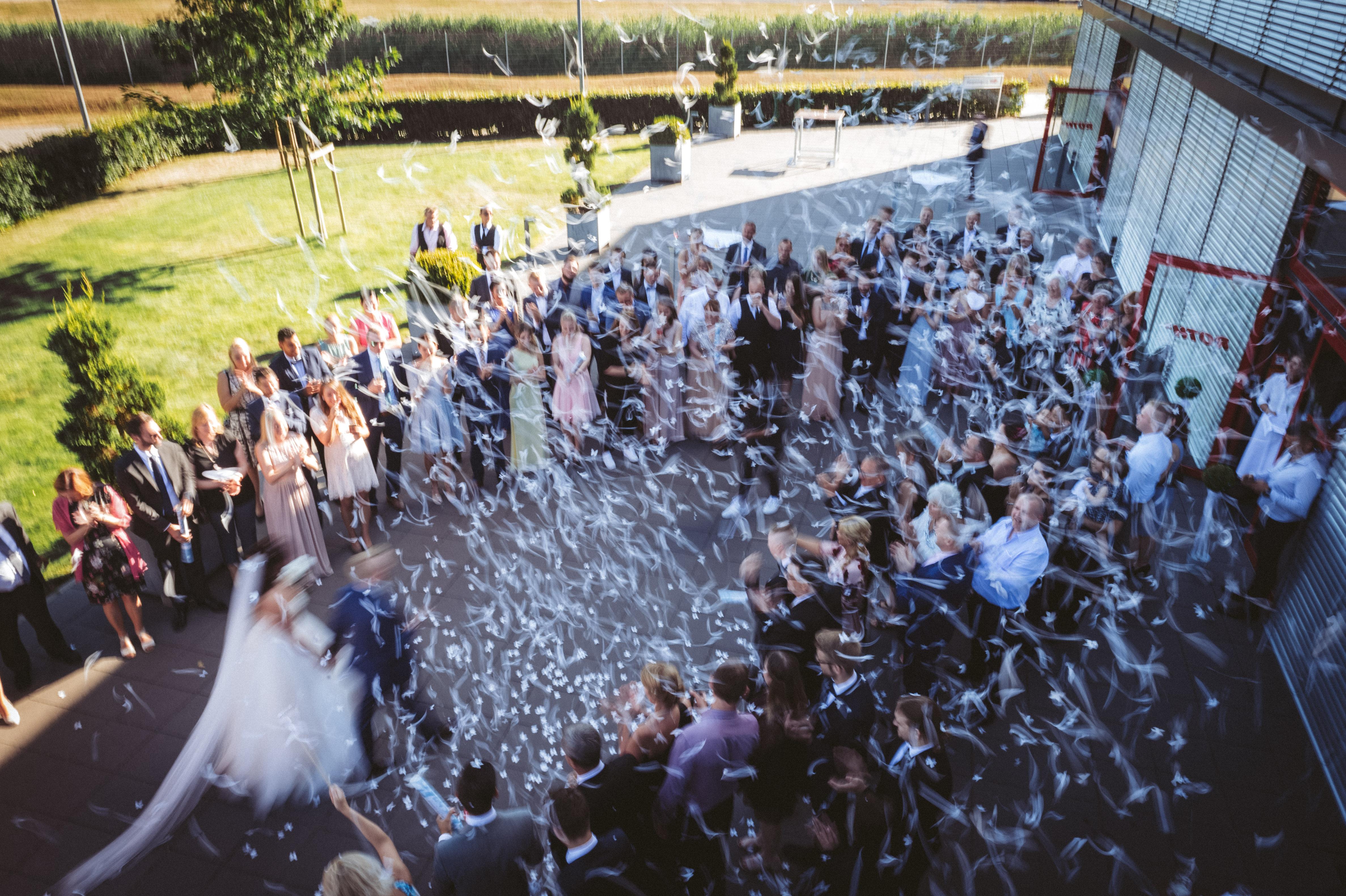 Hochzeitsfeier im Roth Feierwerk in Isenbüttel