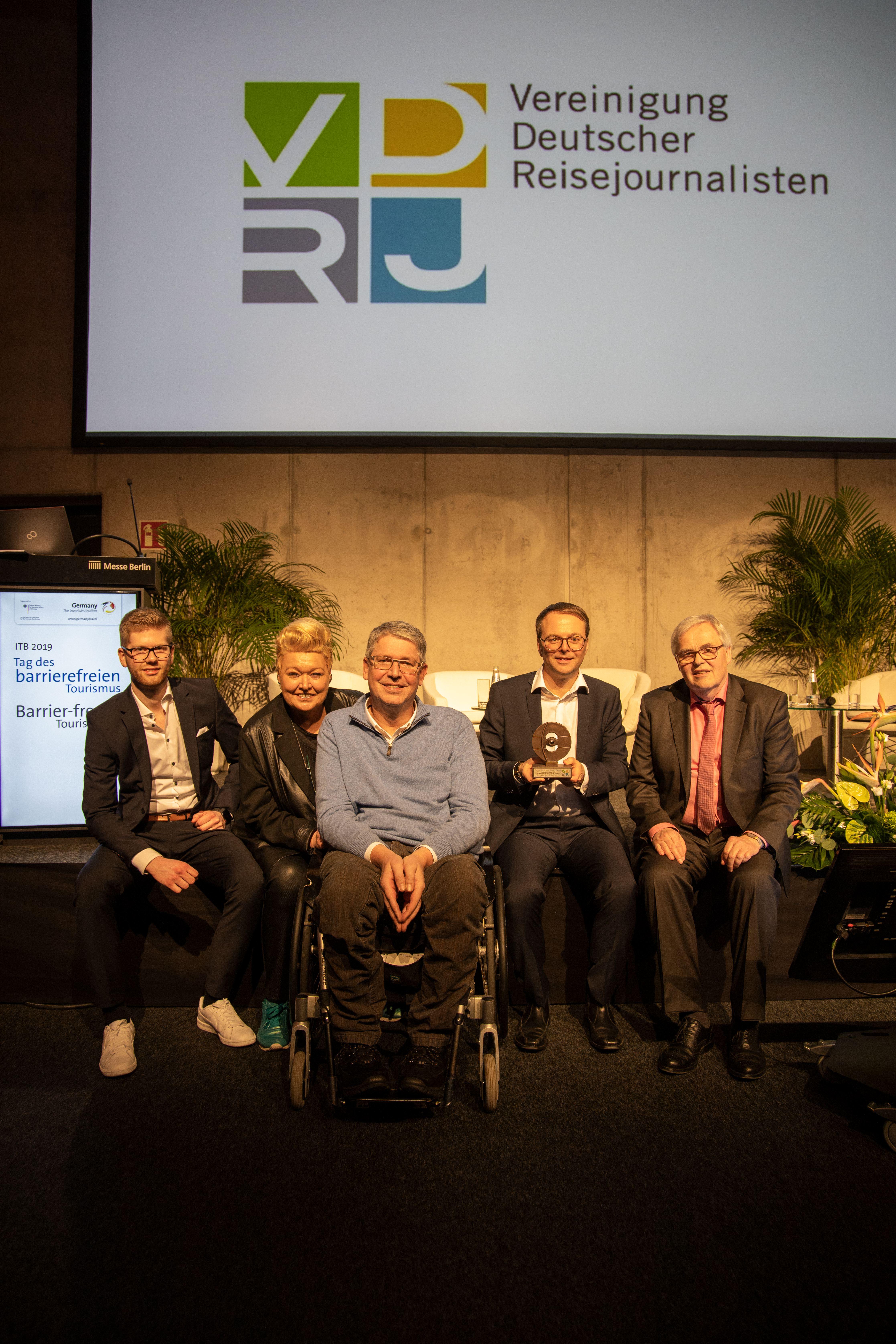 Columbus-Ehrenpreisverleihung 2019 an RUNA REISEN
