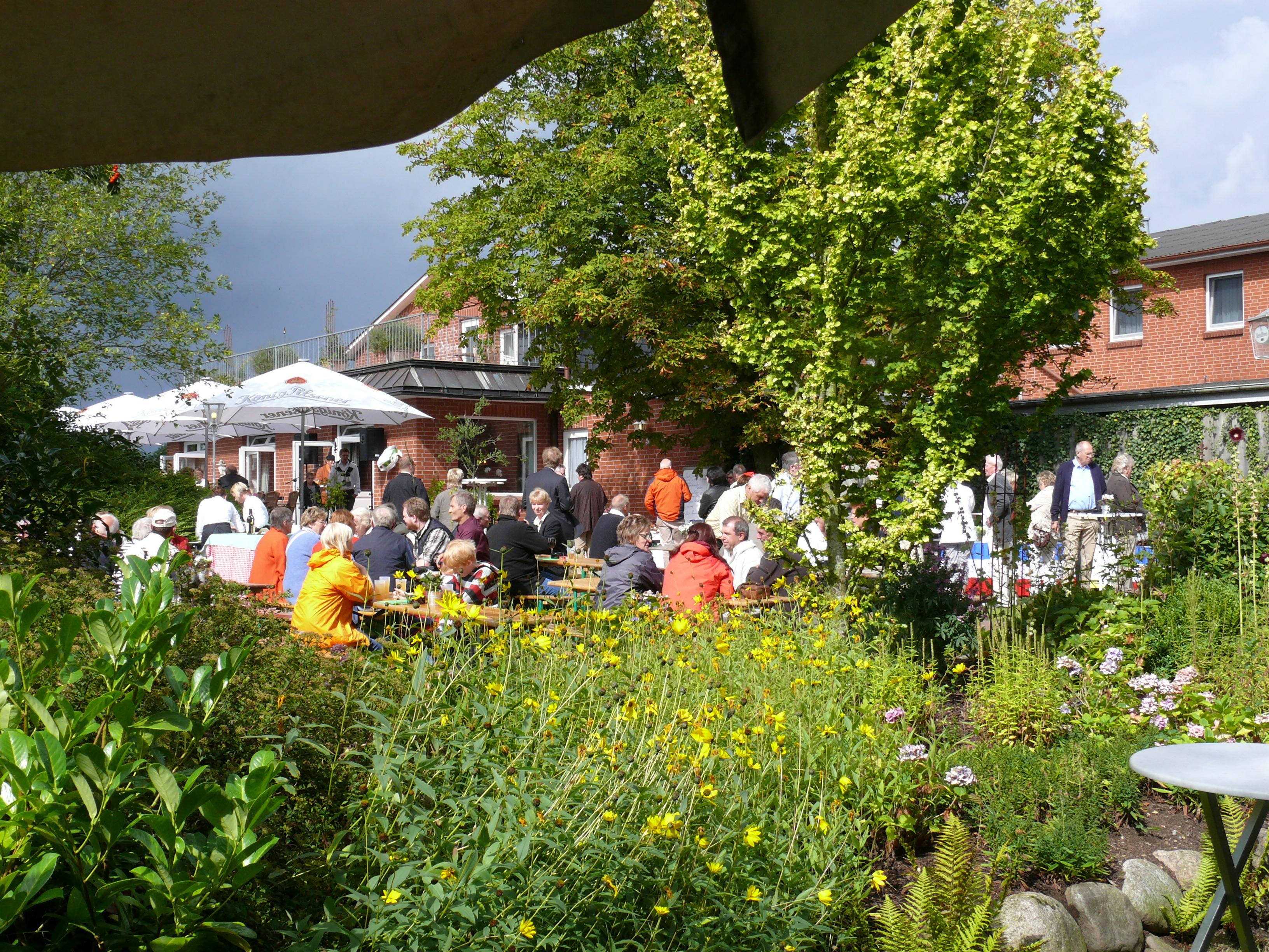 Garten des Landhaus Schulze-Hamann