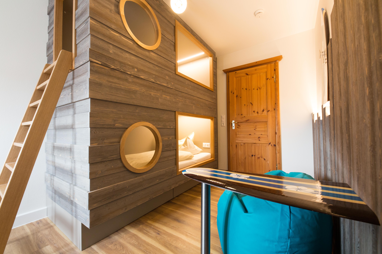 Seeblick - neue Kinderzimmer in der Familiensuite