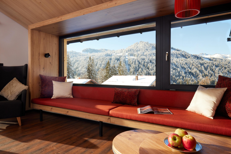 Siplinger Suites - Die Fünf - Panoramafenster