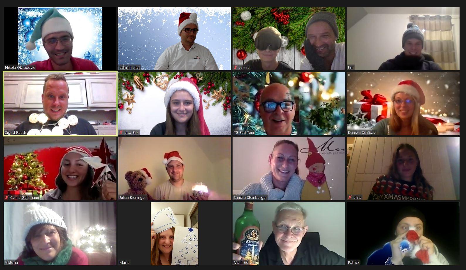teamgeist remote events weihnachten