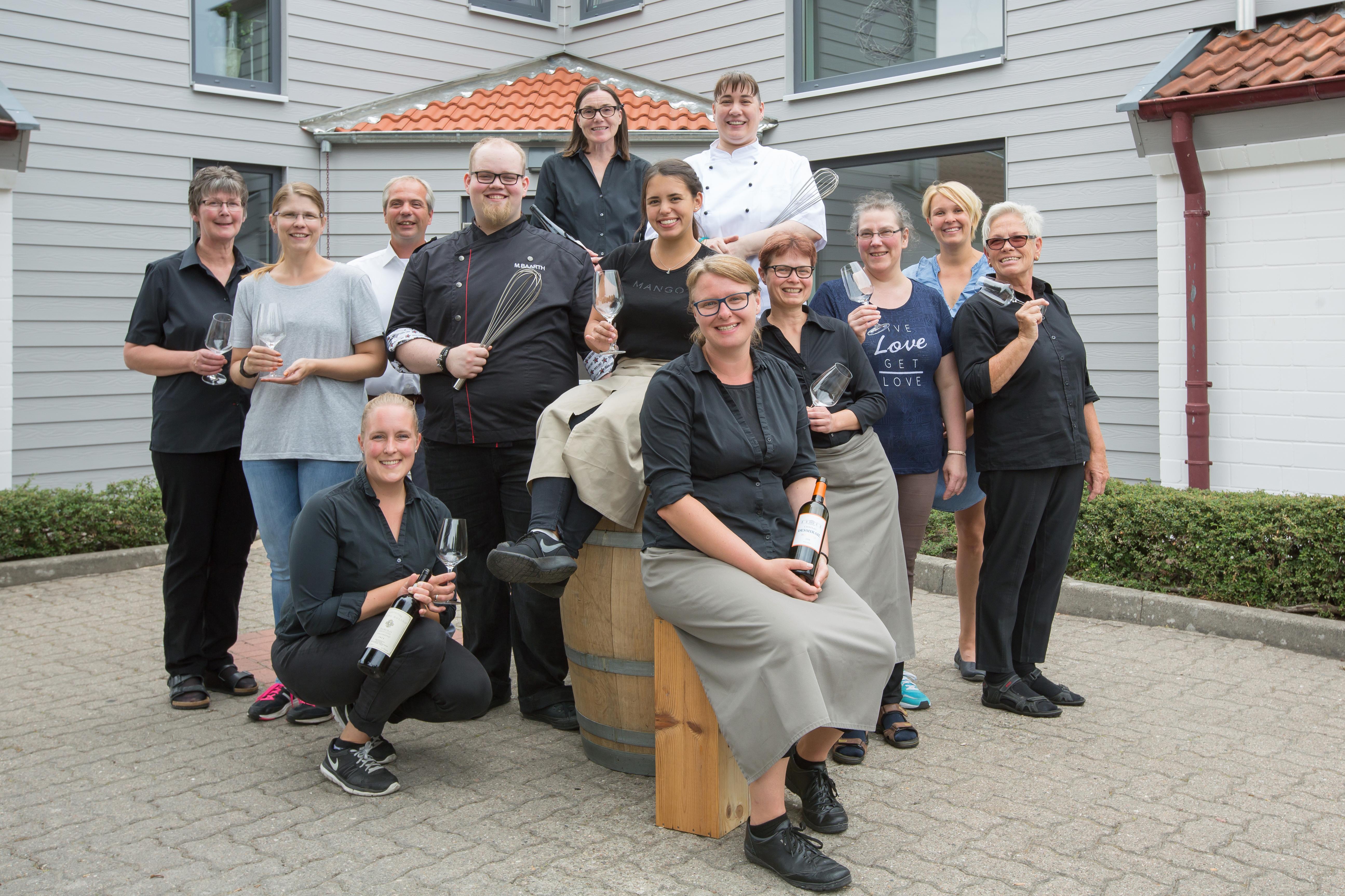 Weinbek - Team des Nördlichstes Weinhotel Deutschlands