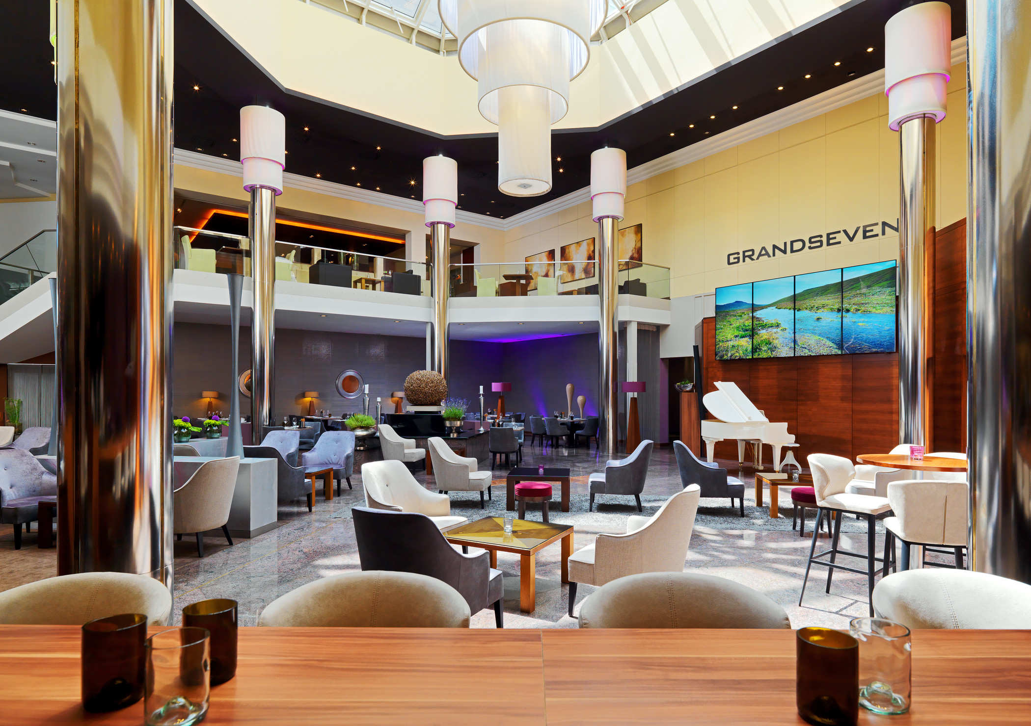 Neu gestaltetes GrandSeven im The Westin Grand Frankfurt